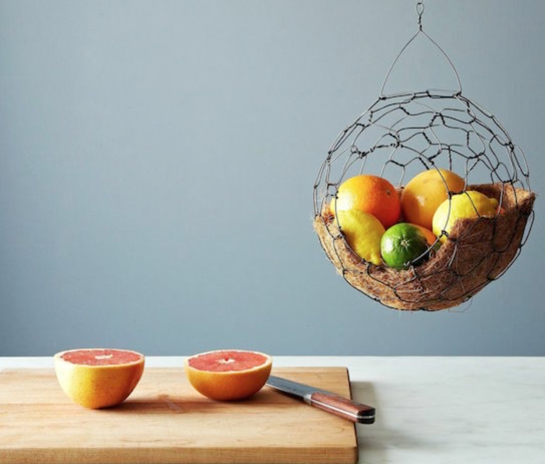 Spherical basket from food52.com