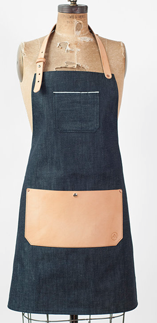 denim apron from  American Native