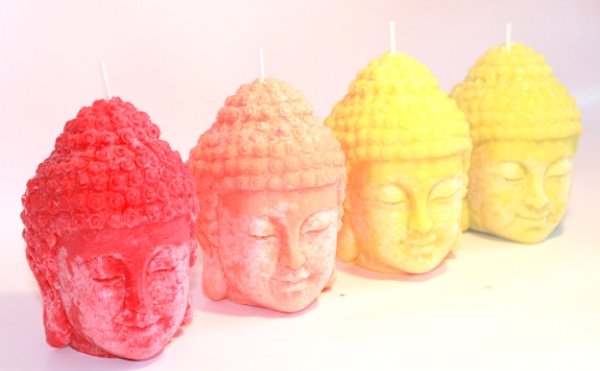 Buddha candles from Bubbles App