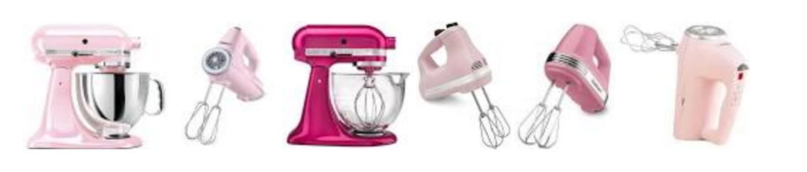 cuisinart mixers pink