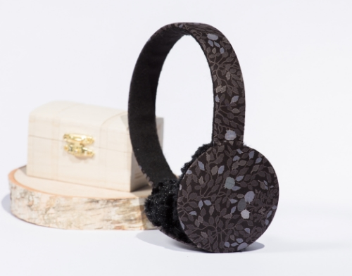 Liberty London Floral Earmuffs by   Moobury