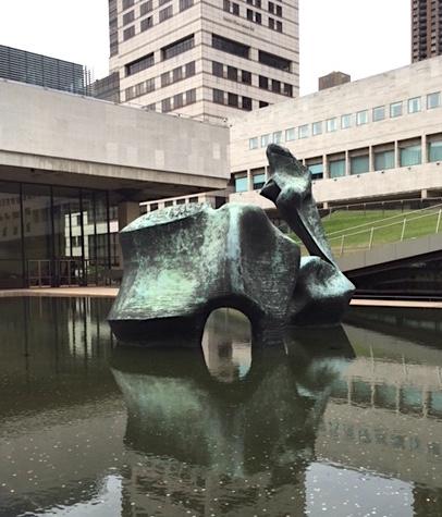 "Henry Moore, ""Reclining Figure"" 1965"