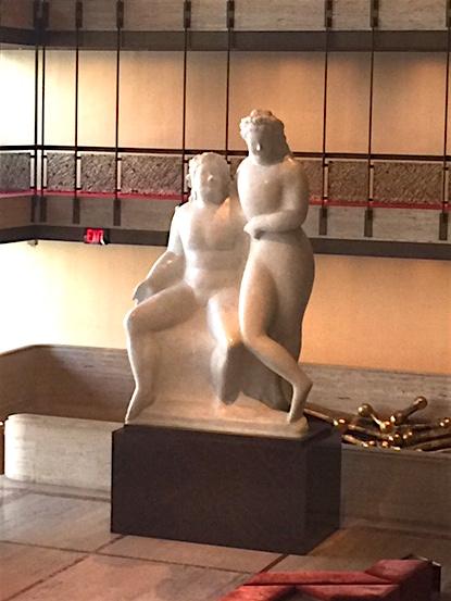 "Elie Nadelman, ""Two Female Nudes"" 1931"