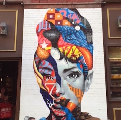 """Audrey of Mulberry"" by Tristan Eaton"