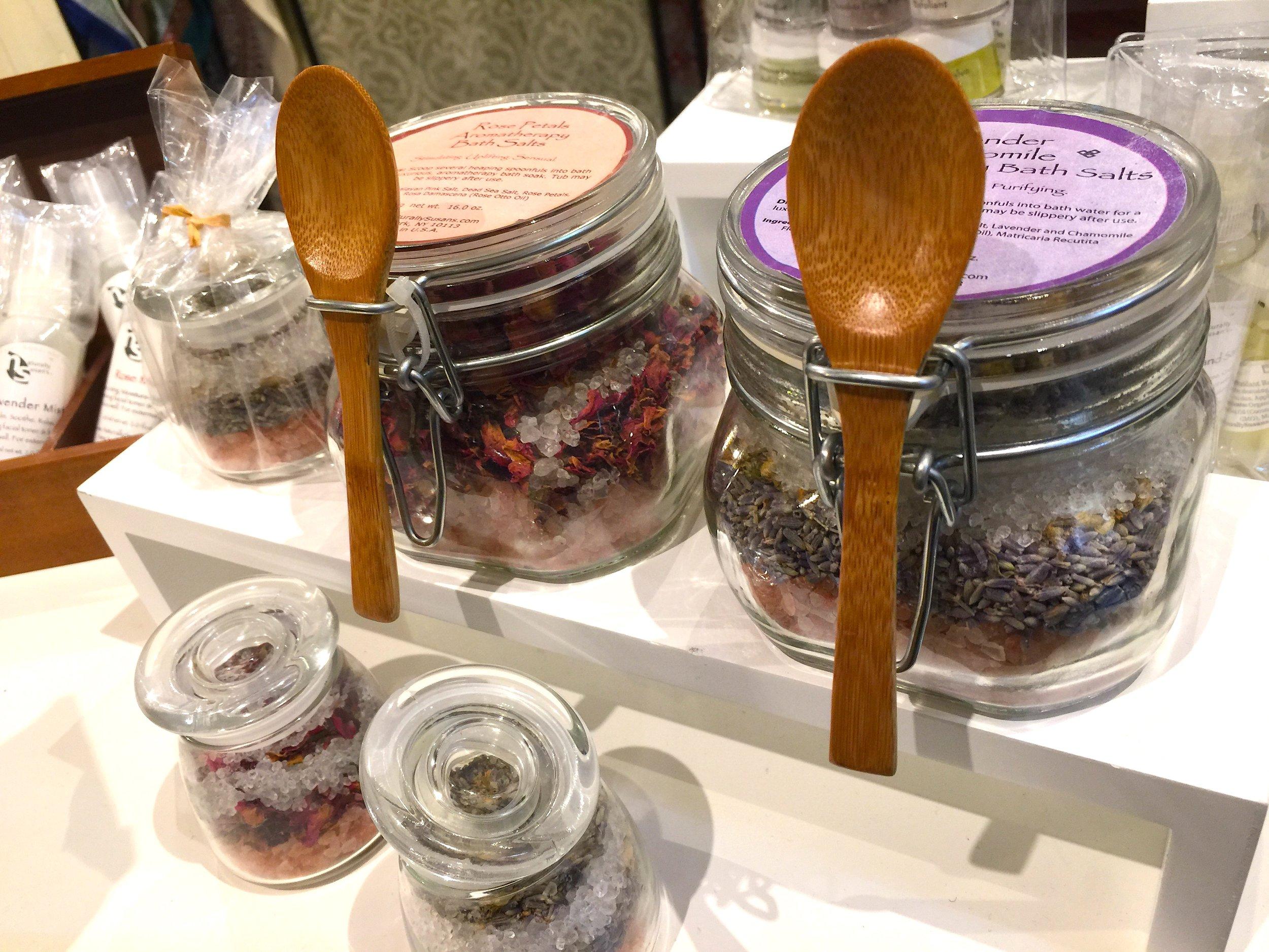 Bath salts by Naturally Susan's