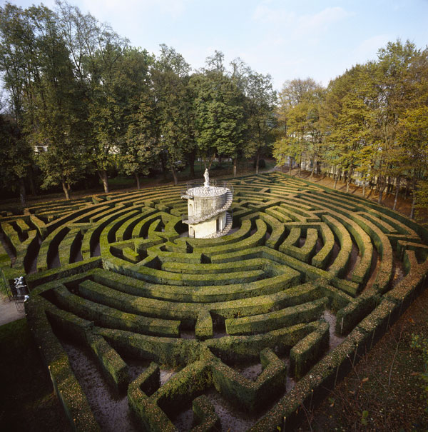 Maze at Villa Pisani, Italy