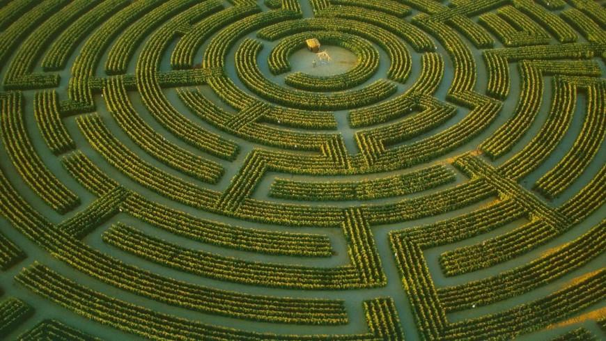 The Maze of Regina-sur-Indre, France