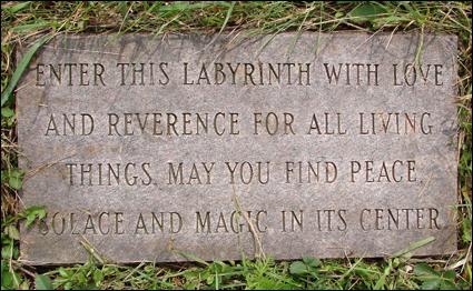 Labyrinth Plaque