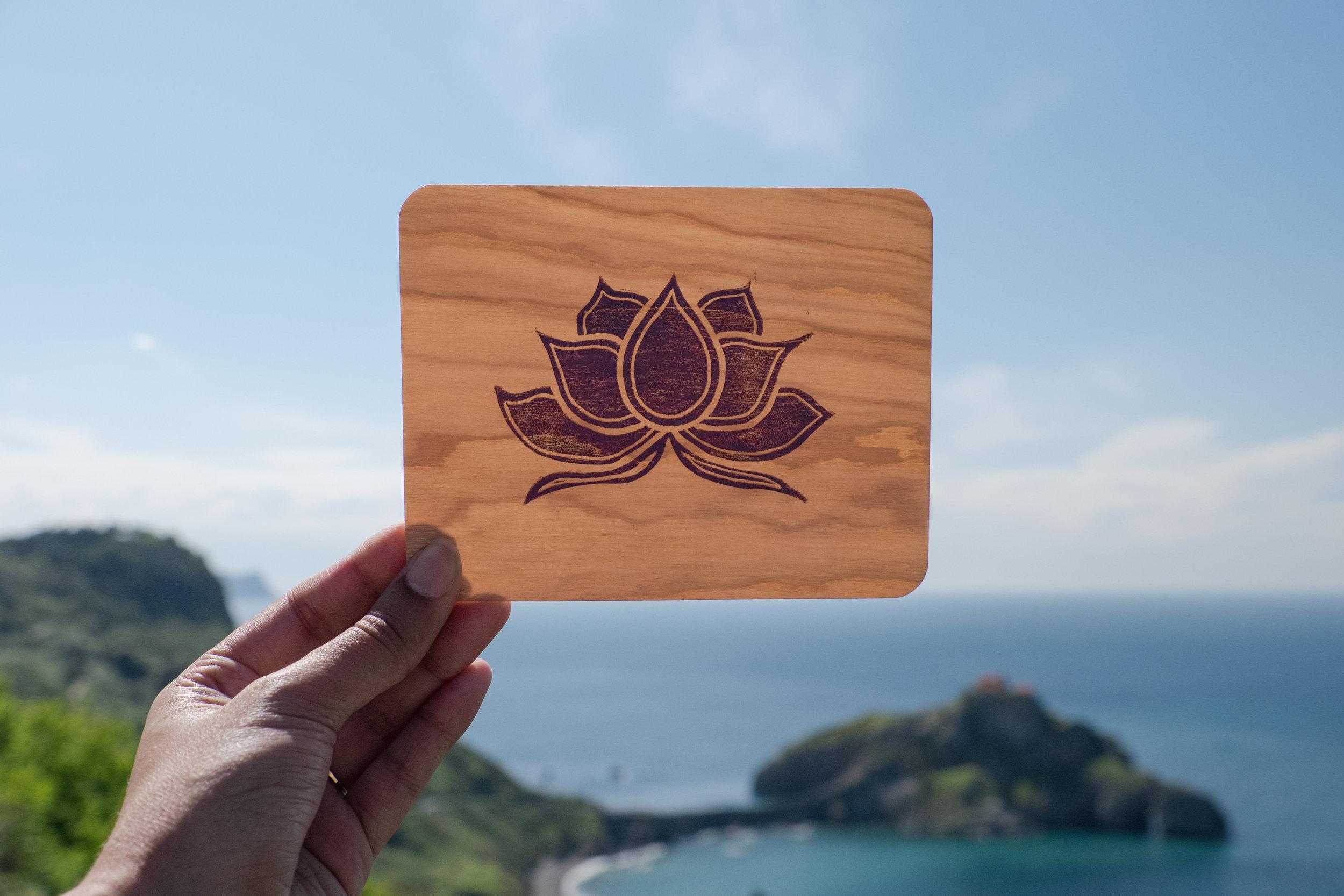 kaibelle lotus wooden postcard.jpg