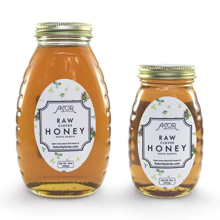 Clover Raw Honey , $12.00, from  Astor Apiaries