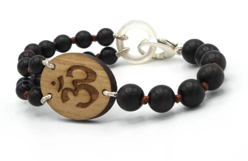 Om ©Goddess Bracelet , $90.00, from  Jen Stock, Mindful Jewelry for Everyday Life