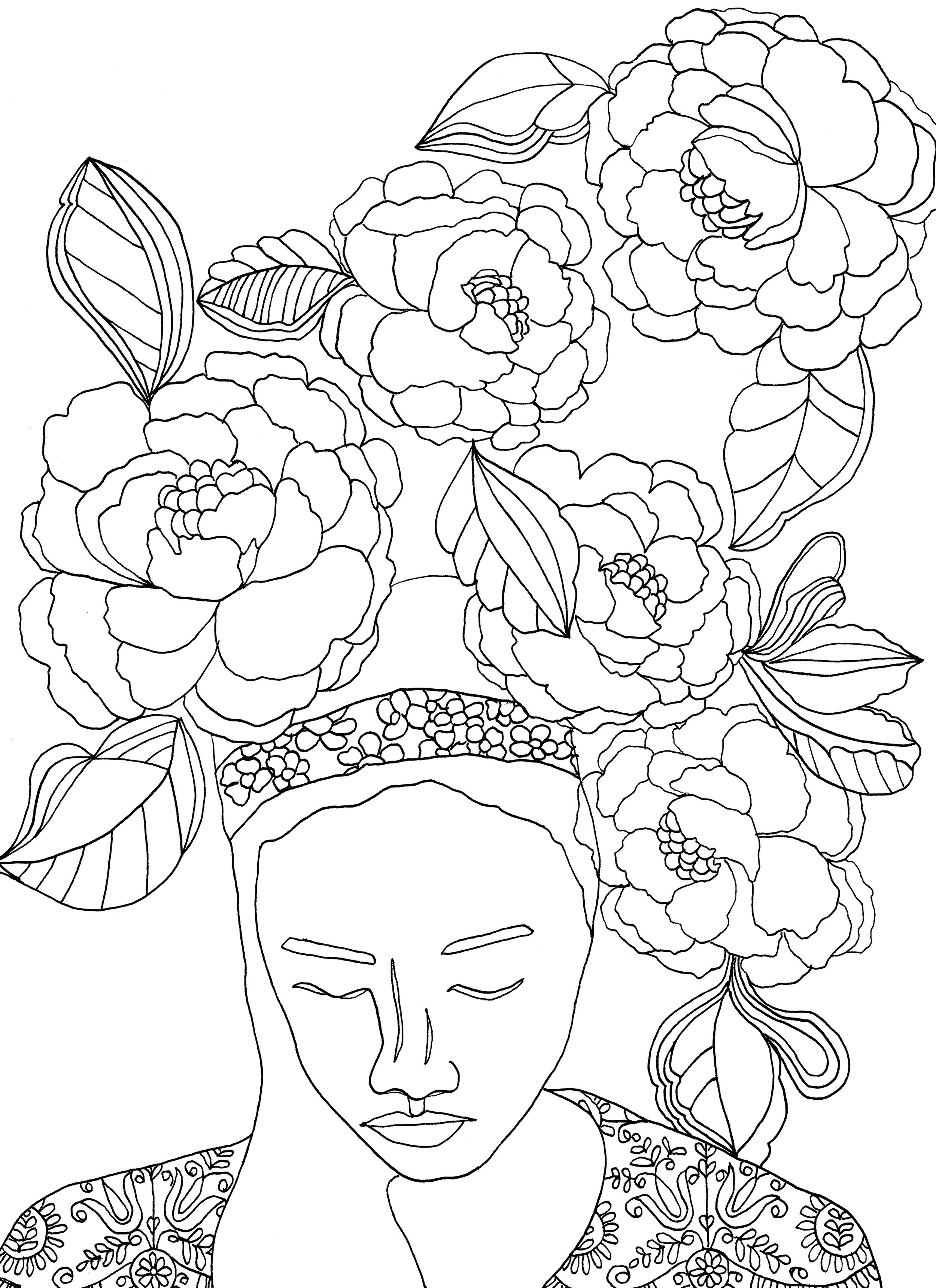 - Free Adult Coloring Book Pages — REBECCA MCFARLAND
