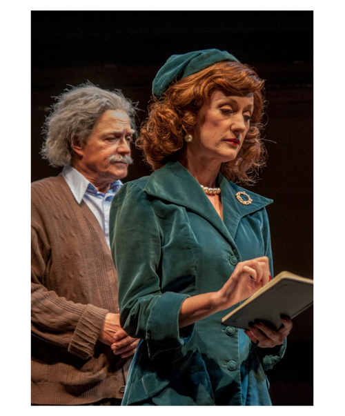 Dennis Bateman & Candace Vance in  Relativity  at Taproot Theatre. Photo by Erik Stuhaug.