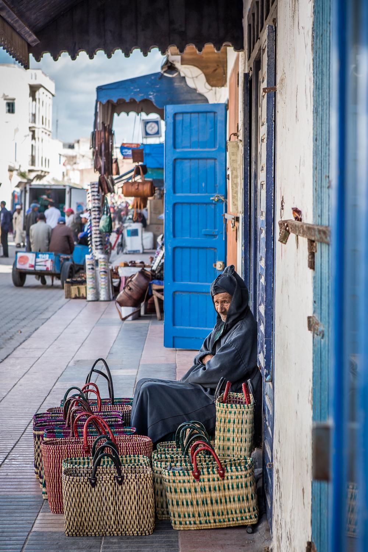 The Basket Seller