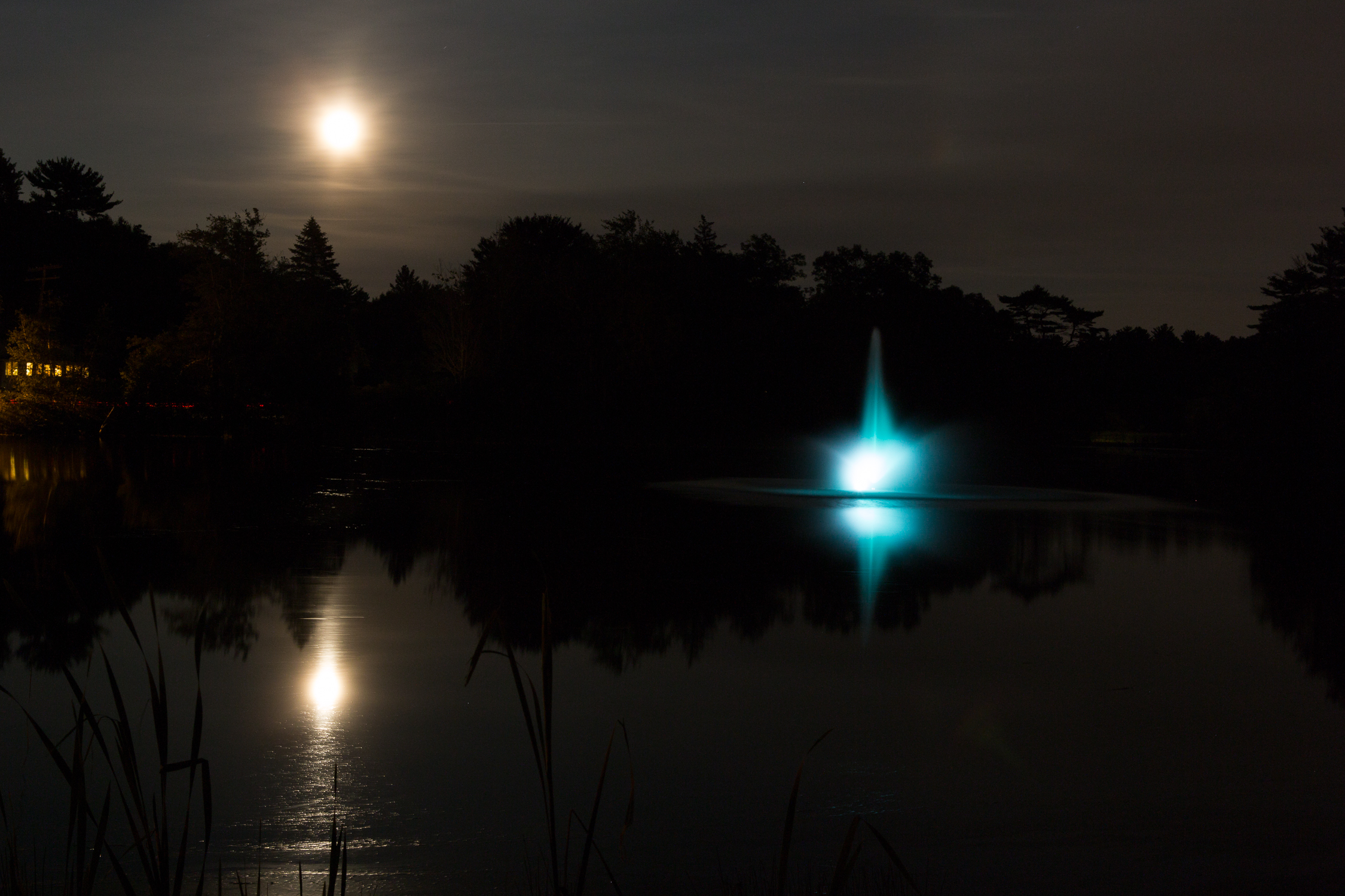 Clarkes Pond.