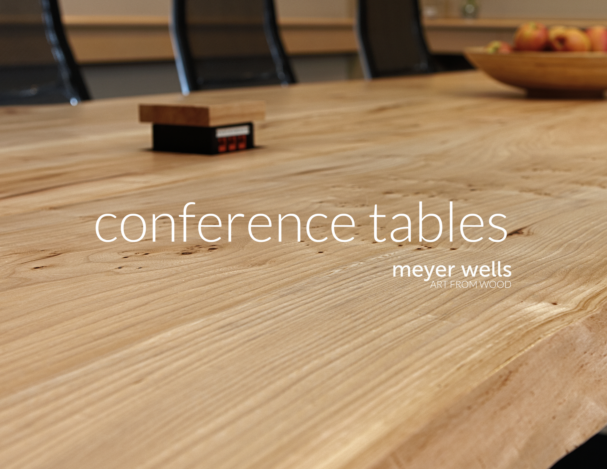 Custom Conference Tables: Download PDF