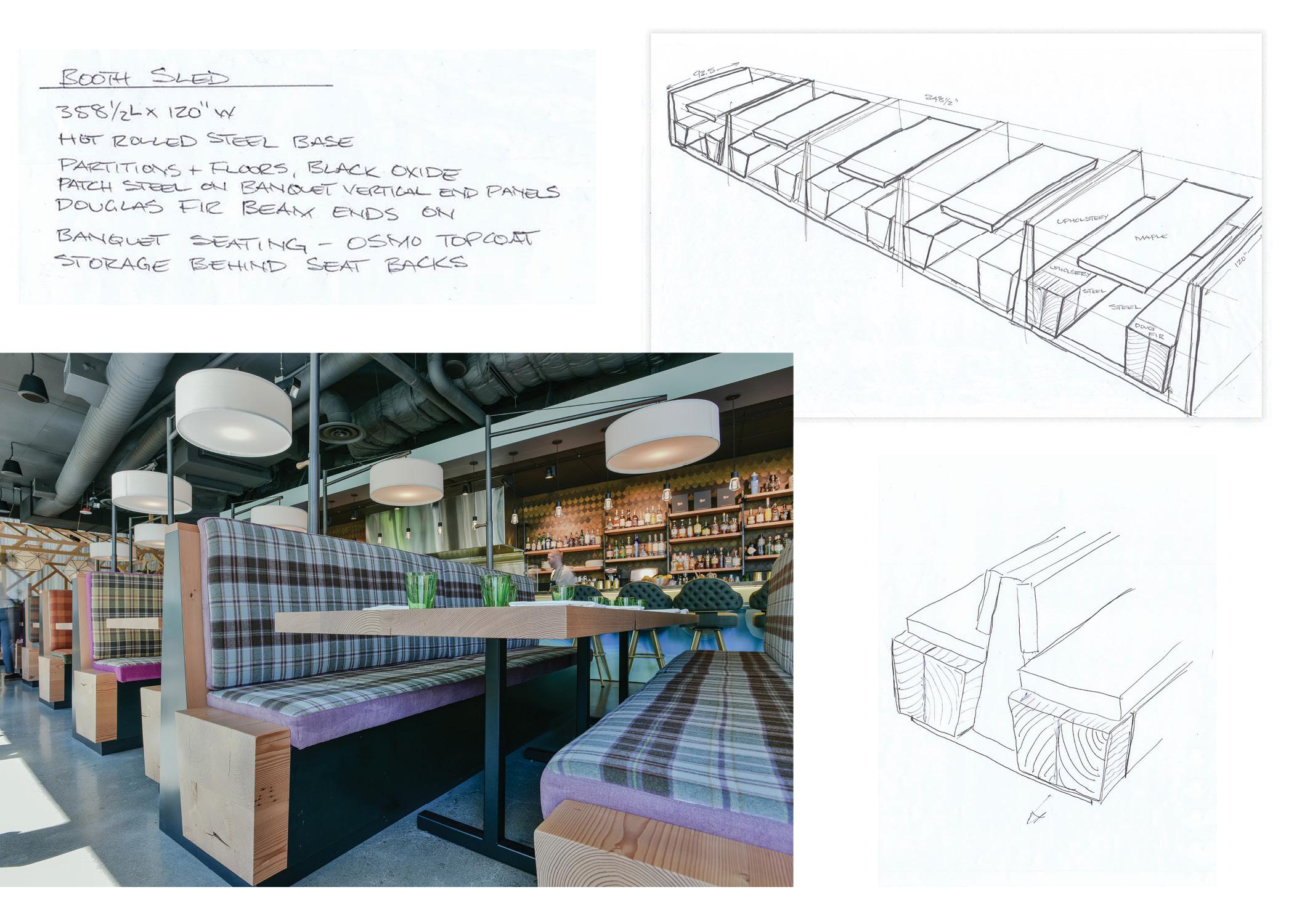 Restaurant Booth Designs