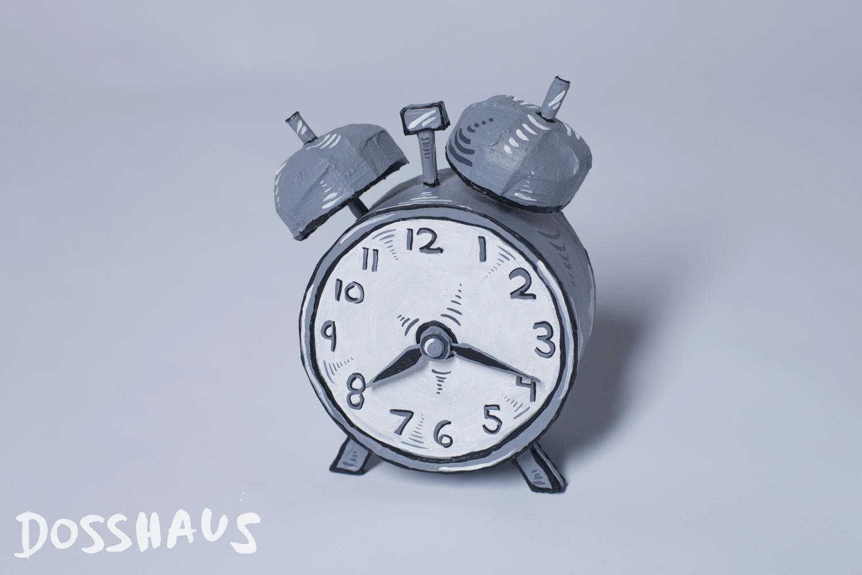 Alarm Clock Paris Time
