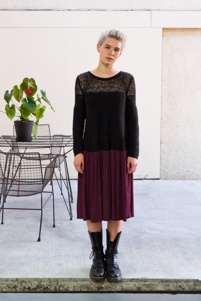 AW2014  Silence Was  Madeline Dress (yes really)