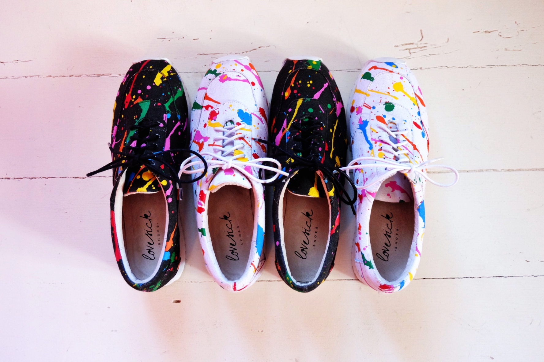 fun Felix shoes from Love Sick.  Love sick  is  Chaos and Harmony 's little sister.