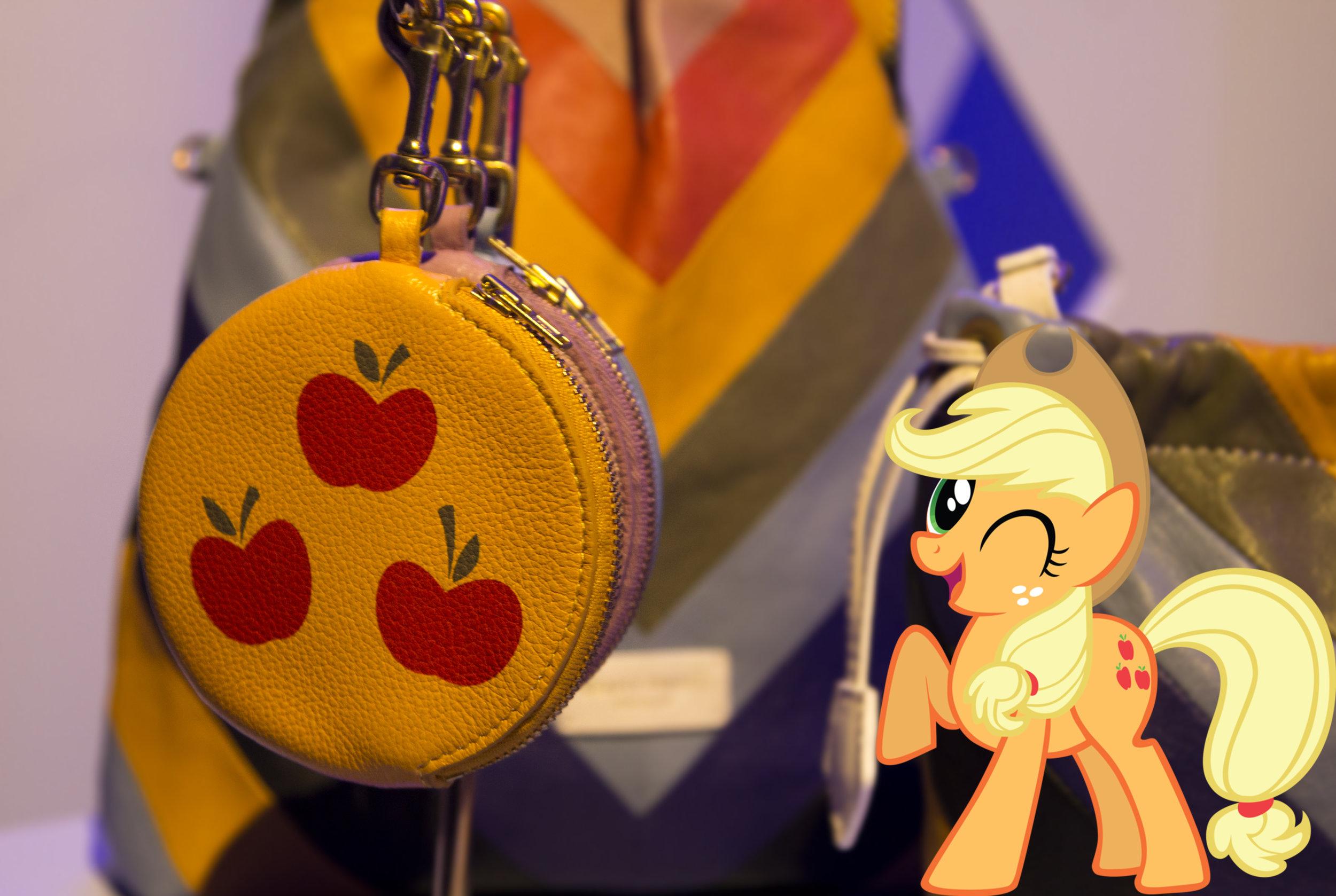 Applejack Pony Pom Pom Purse