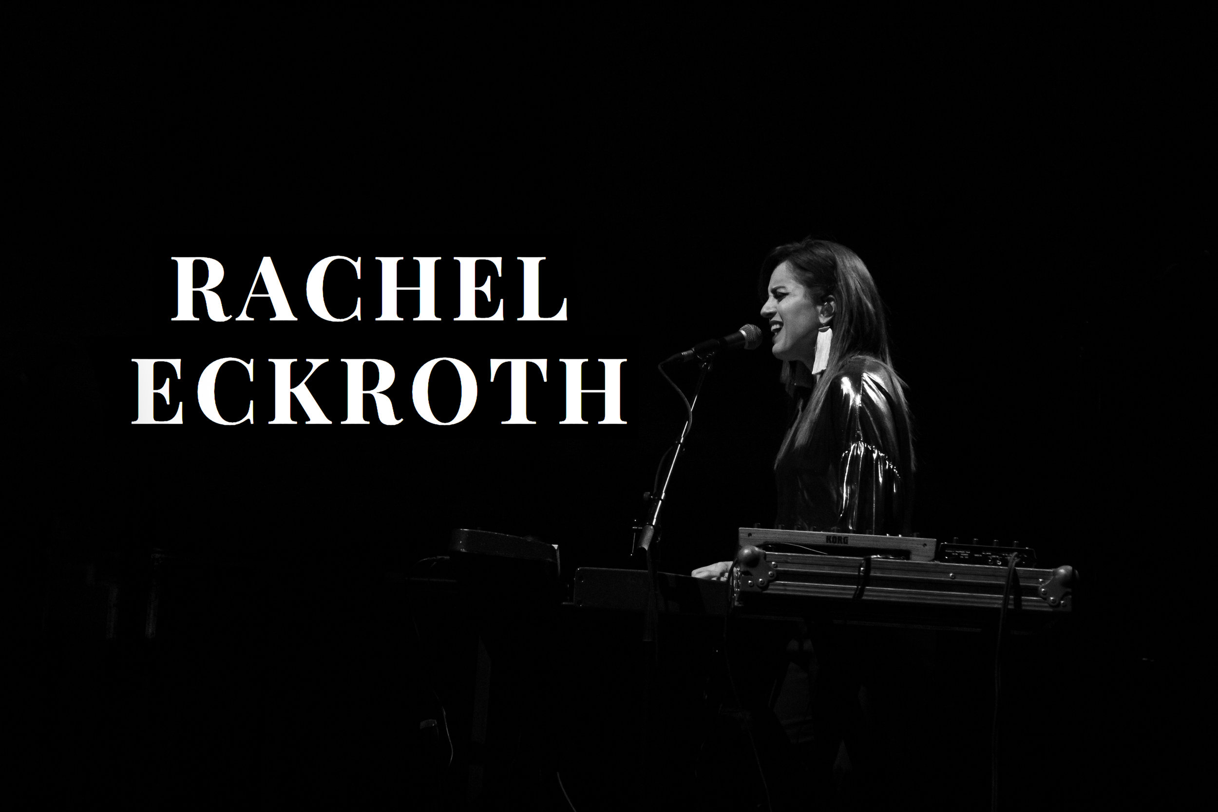 Opening act  Rachel Eckroth  (also the Keys/ Guitar/Backing Vocals in Rufus' band.
