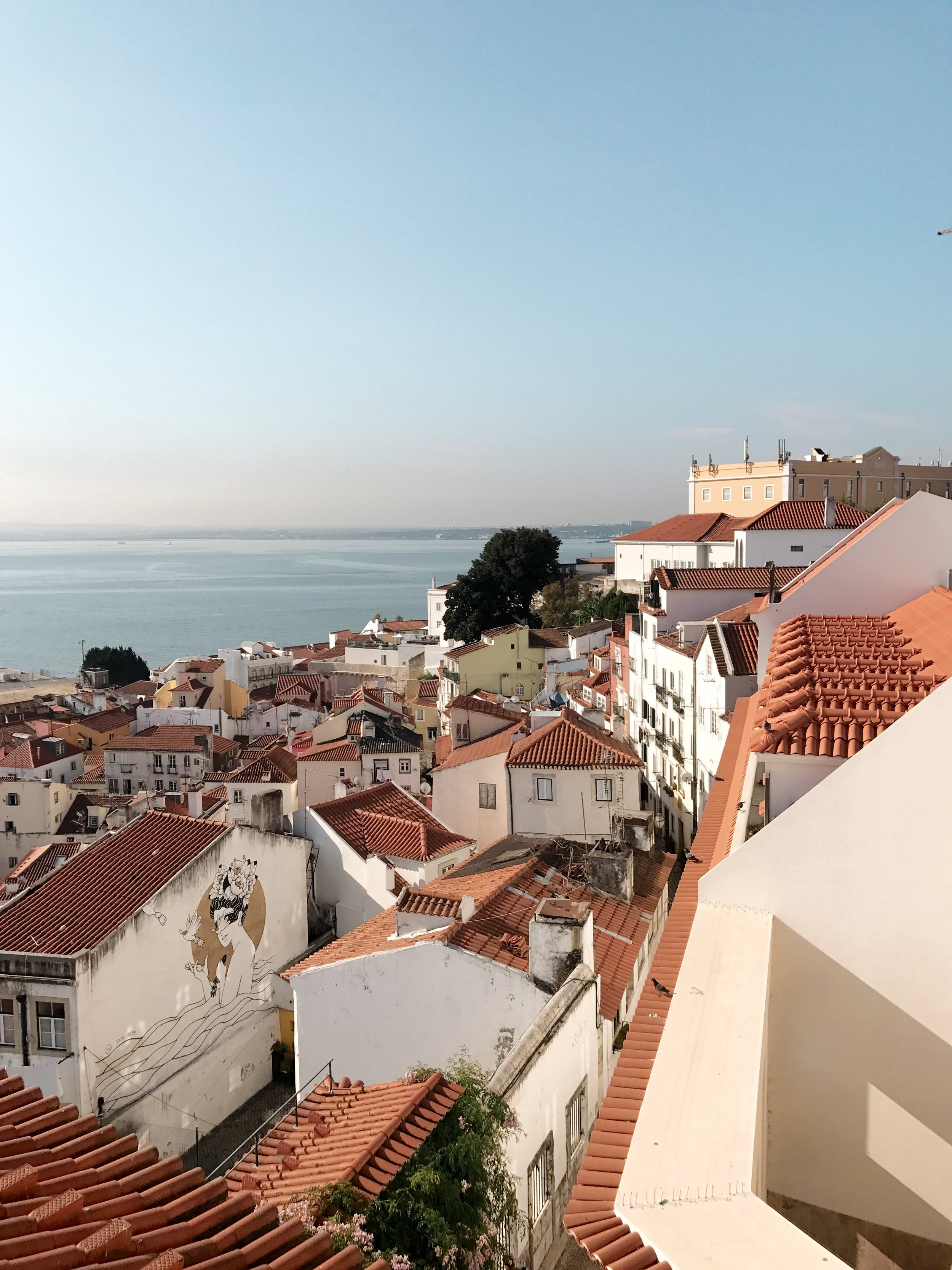 View from Portas do Sol