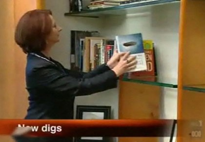 "Normal   0           false   false   false     EN-AU   X-NONE   X-NONE                                                                          Prime Minister Julia Gillard adds the  Macquarie PEN Anthology of Australian Literature  to her library. (Source: ABC TV)                                                                                                                                                                                                                                                                                                                                                                                                                                                                                                                                                                                                                                                                                                                                                                                       /* Style Definitions */  table.MsoNormalTable 	{mso-style-name:""Table Normal""; 	mso-tstyle-rowband-size:0; 	mso-tstyle-colband-size:0; 	mso-style-noshow:yes; 	mso-style-priority:99; 	mso-style-parent:""""; 	mso-padding-alt:0cm 5.4pt 0cm 5.4pt; 	mso-para-margin:0cm; 	mso-para-margin-bottom:.0001pt; 	text-align:justify; 	line-height:200%; 	mso-pagination:widow-orphan; 	font-size:11.0pt; 	font-family:""Calibri"",""sans-serif""; 	mso-ascii-font-family:Calibri; 	mso-ascii-theme-font:minor-latin; 	mso-hansi-font-family:Calibri; 	mso-hansi-theme-font:minor-latin; 	mso-fareast-language:EN-US;}"
