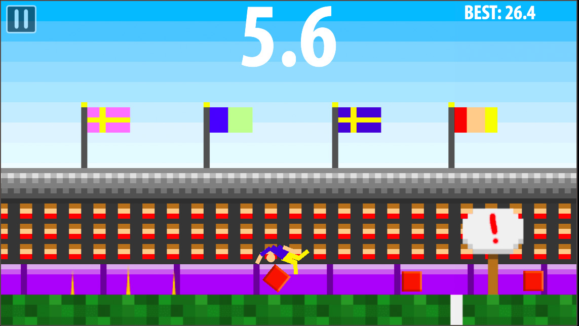 Long Jump Challenge is now on Android as well as iOS!