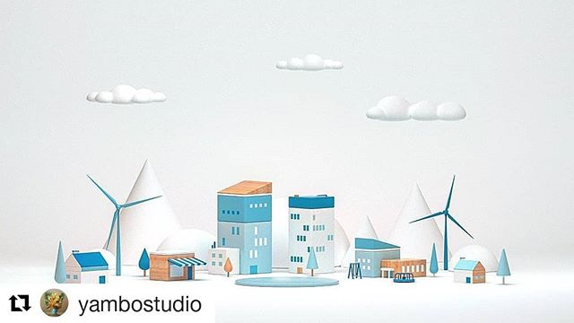#Repost @yambostudio ・・・ We did some illustrations for Google Earth Day 2018, This is one 💙 @cschofield3d