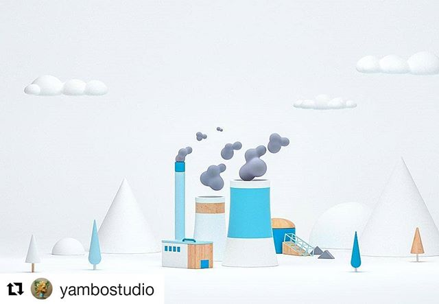 #Repost @yambostudio (@get_repost) ・・・ Few explorations done last year for Google Earth Day with @cschofield3d 💙