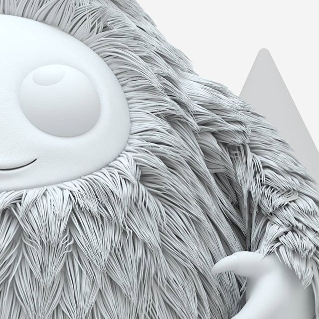 Day 2 of Sneak Peek Week for #themonsterproject - a first look at the haircut I've been working on. Perhaps i'll show a bit of colour in the next few days... All monsters will be revealed on August 5th. Follow @themonsterproject to see them all! - - - - - #illustration #childrensillustration #character #characterdesign #maxon #c4d #cinema4d #octanerender #cute #cutest #hair #mdcommunity #mgcollective #xuxoe #3d #behance #leeds