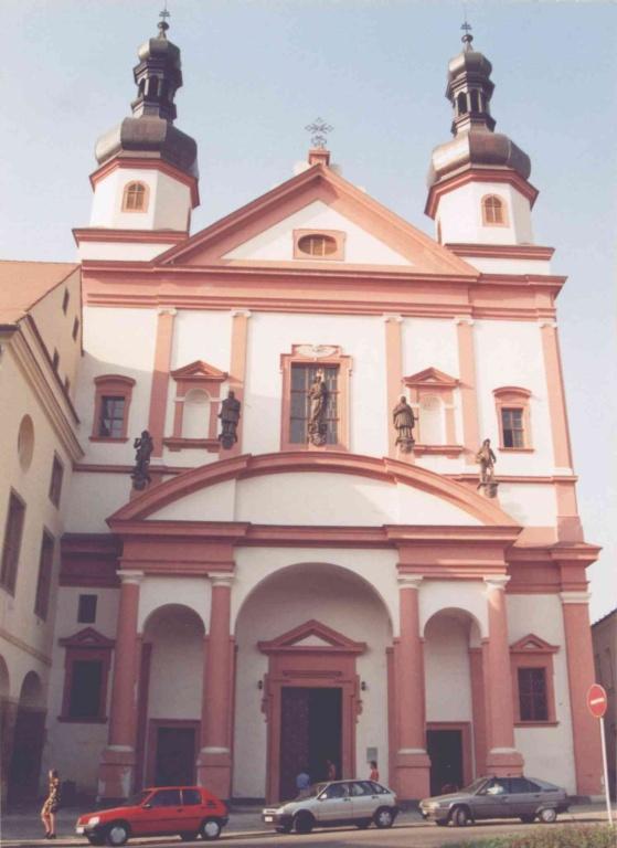 Kostel sv.Ignáce. Chomutov - 1993.