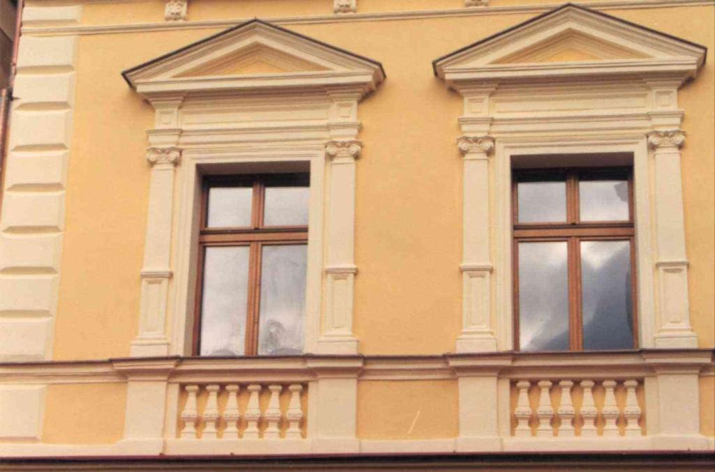 Náměstí Chomutov - 2002