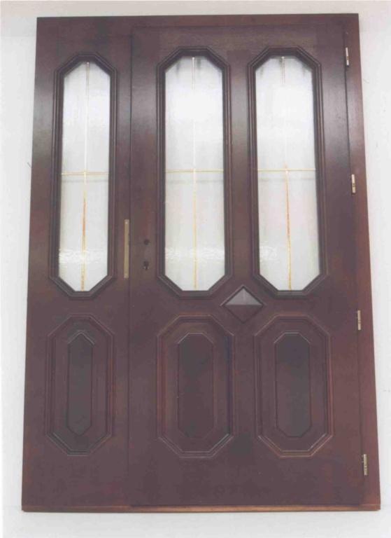 Vchodové dveře dub, EURO. Bílina - 2003.