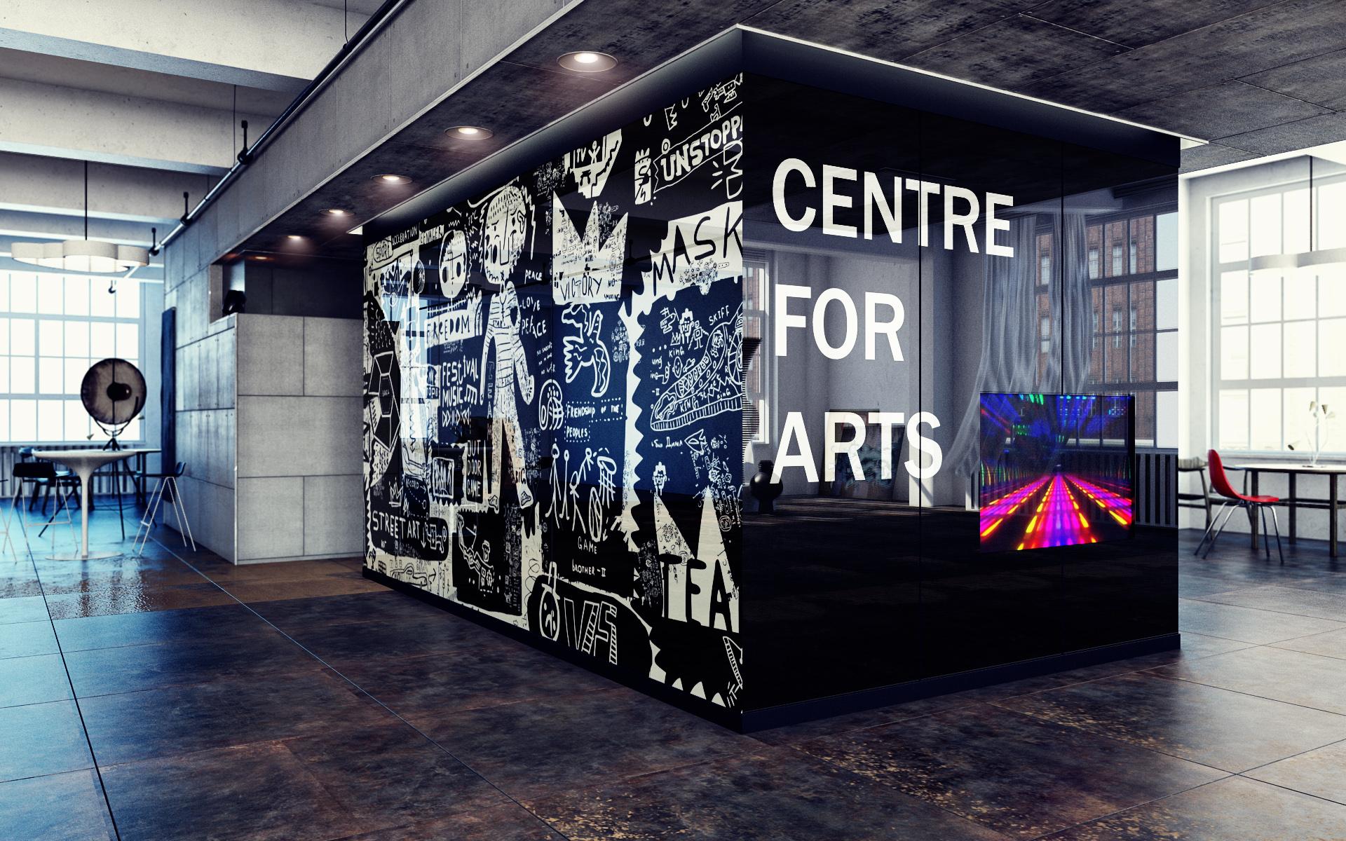 Visualisation -  Art Centre