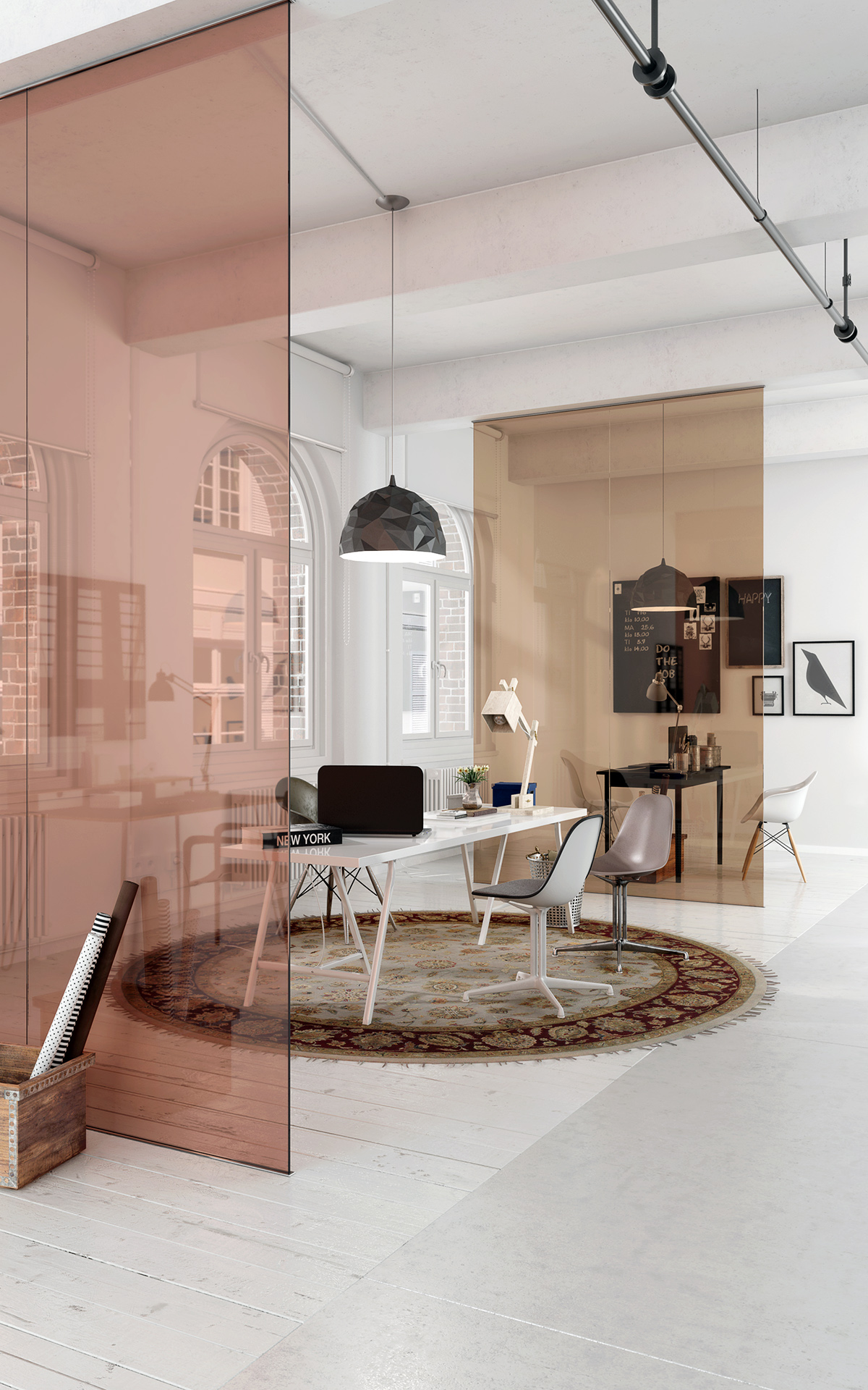 Visualisation - Office Partition