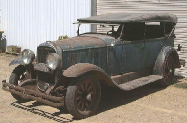The Buick was located in Goulburn NSW as a barn find.   The vehicle has been stored on the same property since the second world war and in the same family from new.