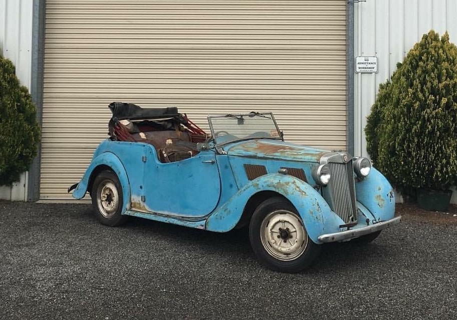 M.G YT Drophead Coupe