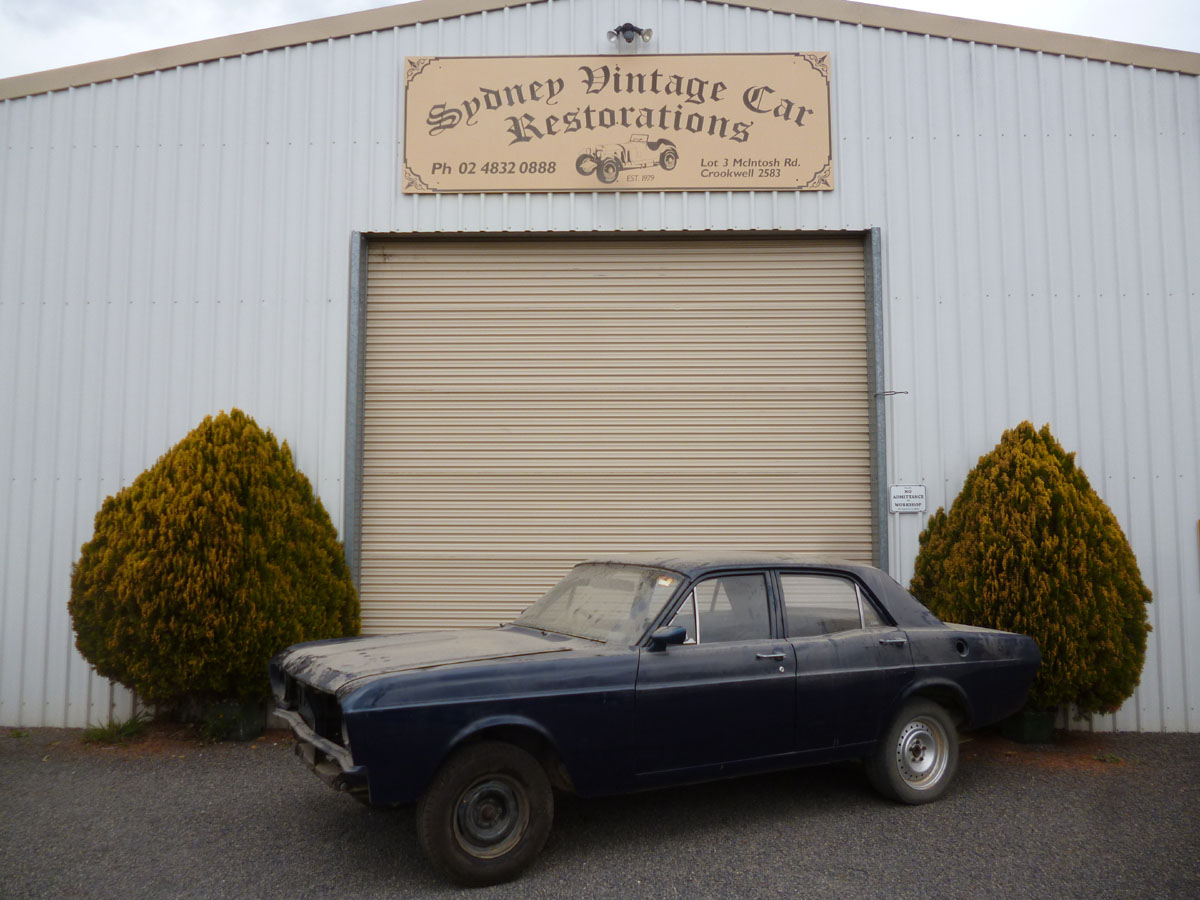 Ford XR Falcon has been in the same family from new. It requires a full restoration and mechanical overhaul.