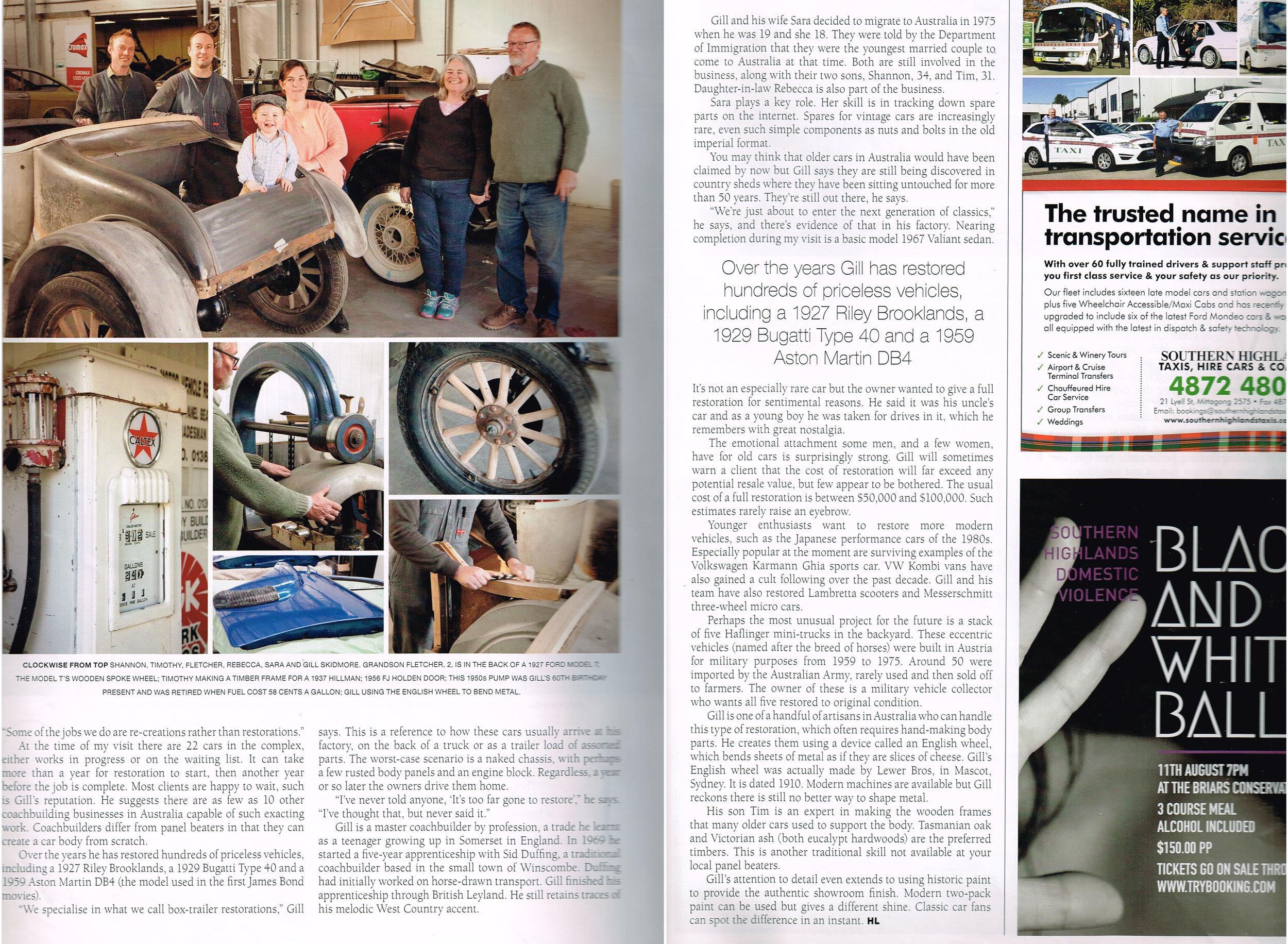 Highlife Magazine page 2