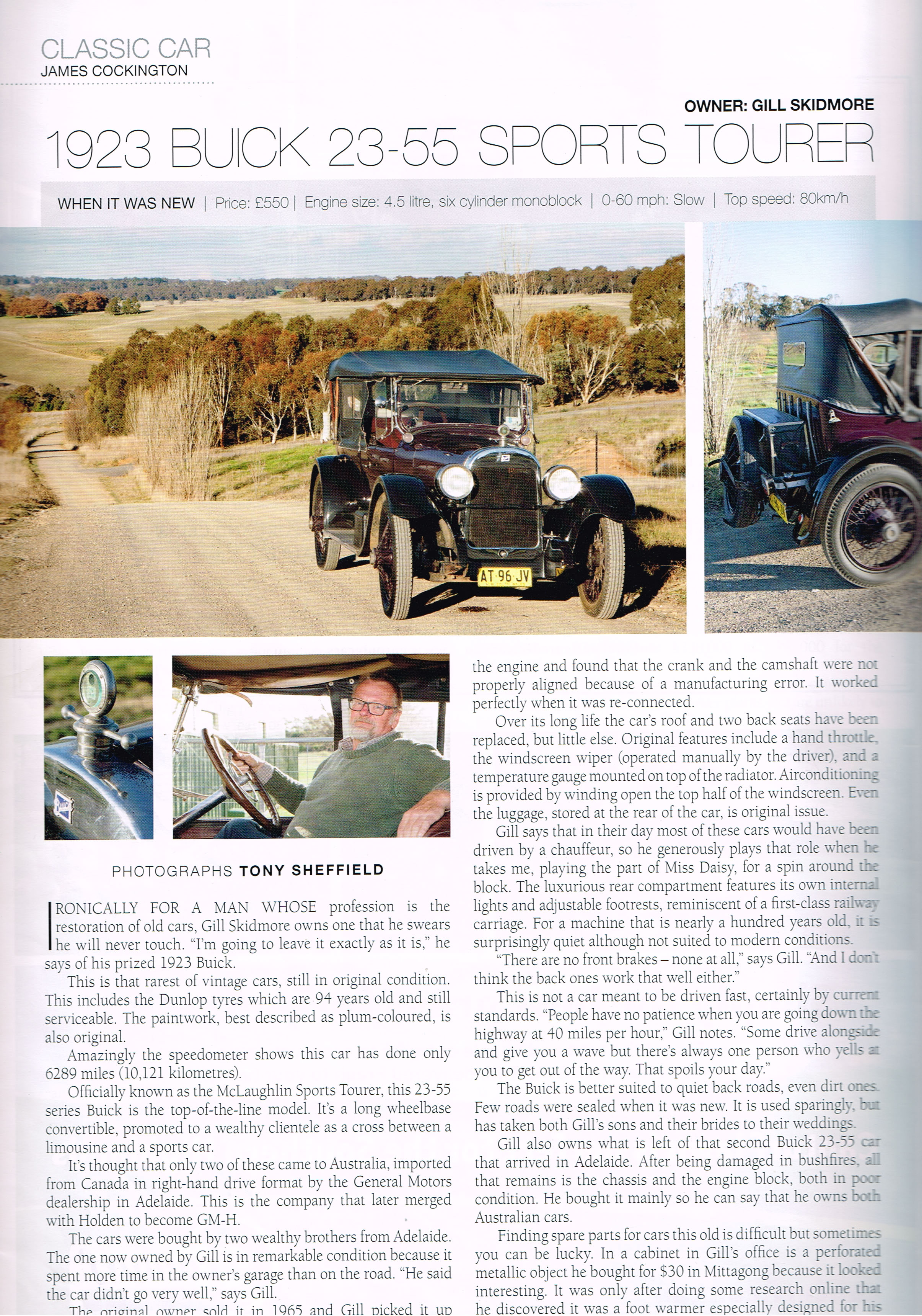 Gil and Buick 1923 23-55