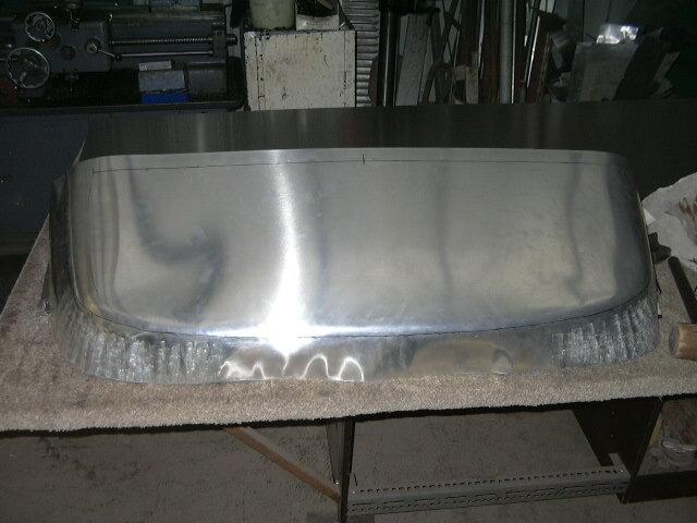 Aluminum beaver panel manufacture