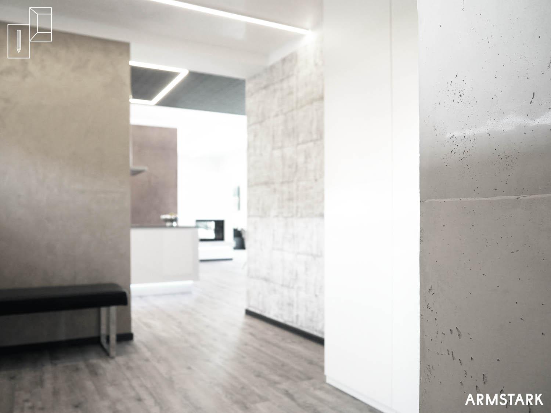 Hochwertige Wandbeschichtungen in den Innenräumen