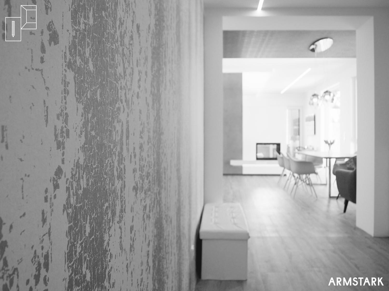 Wandveredelung im Wohnraum mittels Tapete