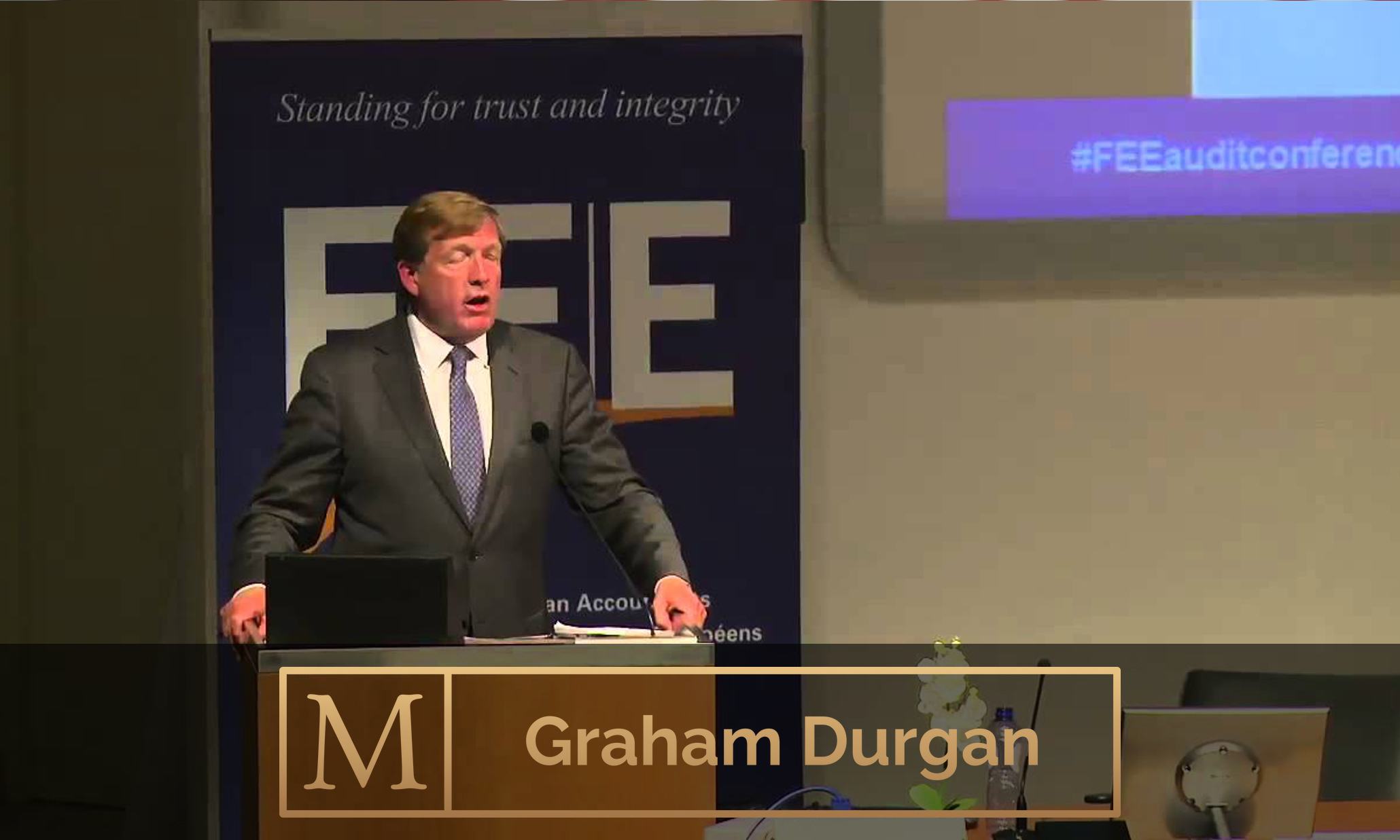 Conference Chairman: Graham Durgan - Entrepreneur, mentor, publisher, Chairman of Emile Woolf (Holdings) Ltd., Chairman and founder of Non-Executive Directors Association, Young Presidents Organisation