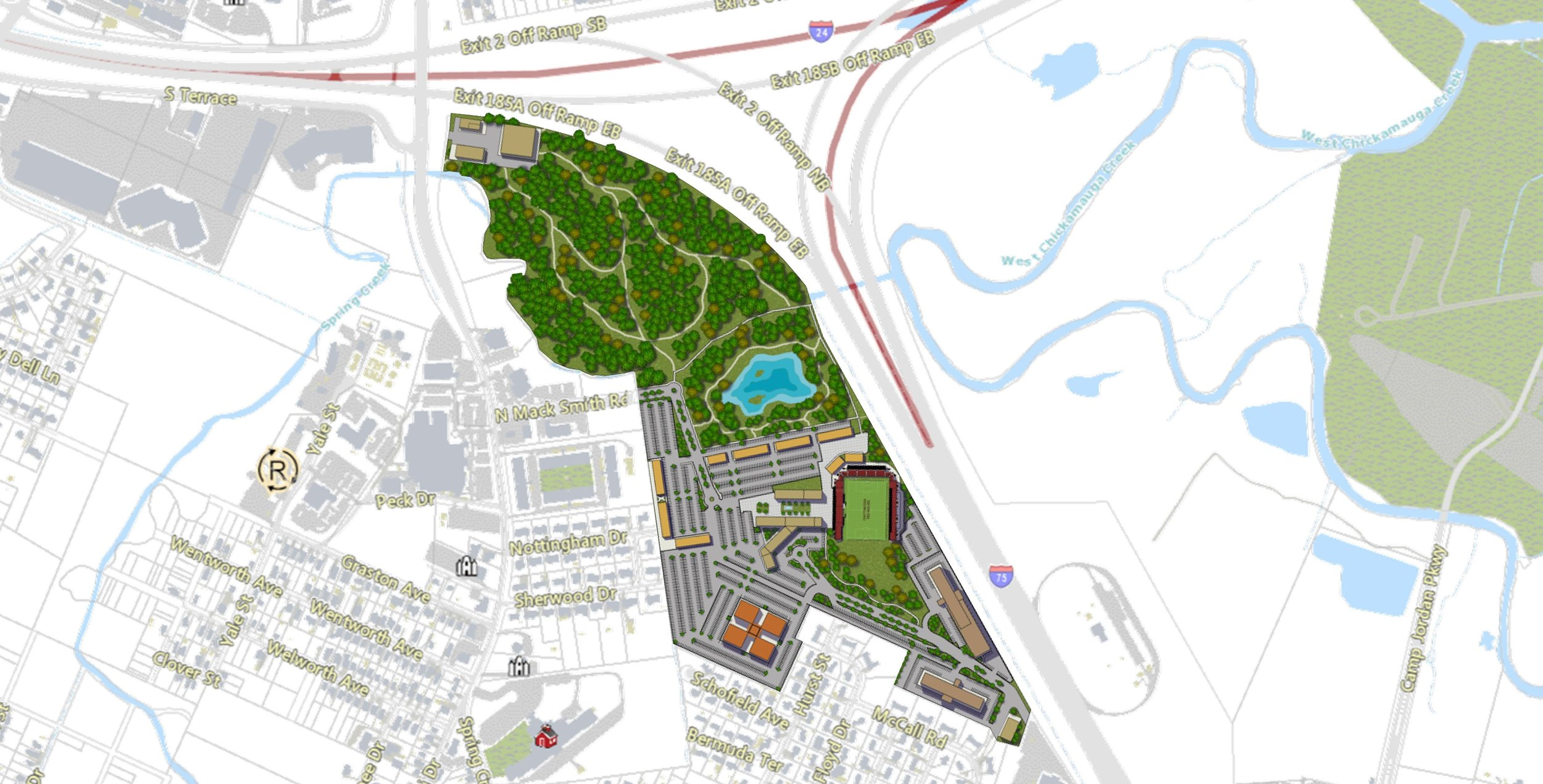 Chattanooga Red Wolves Soccer Stadium and Mixed Use Development