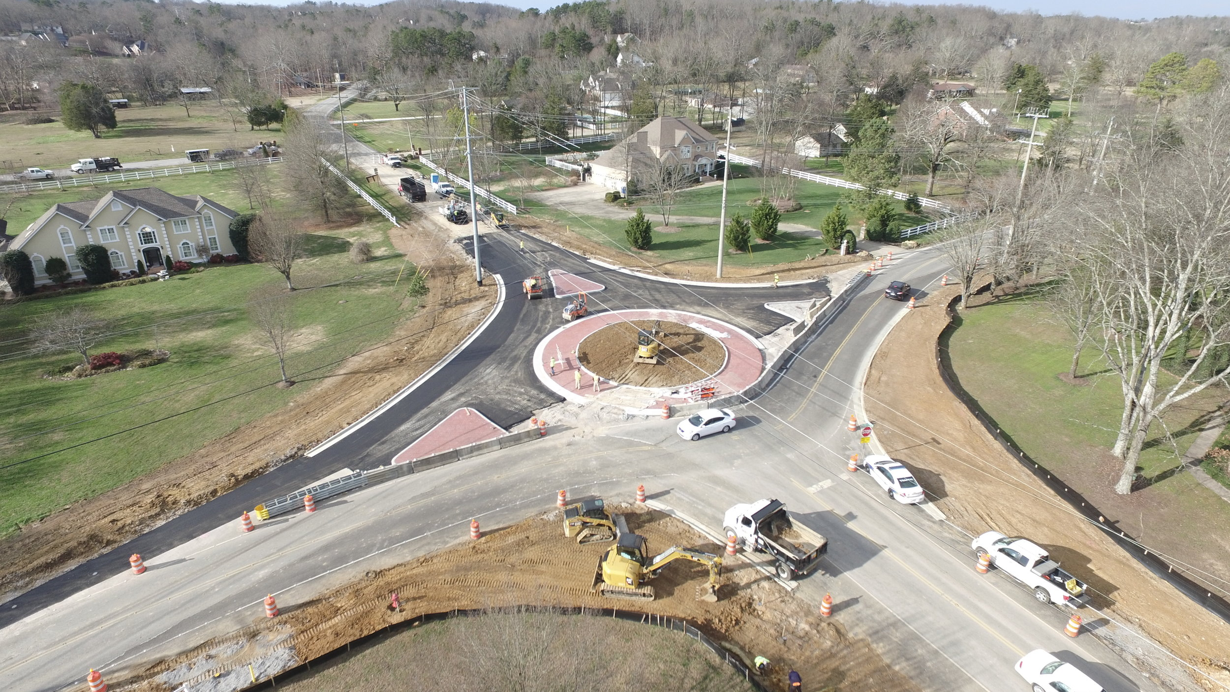 CEI Services on Hamilton County's Ooltewah-Ringgold and Standifer Gap Intersection Improvements Project