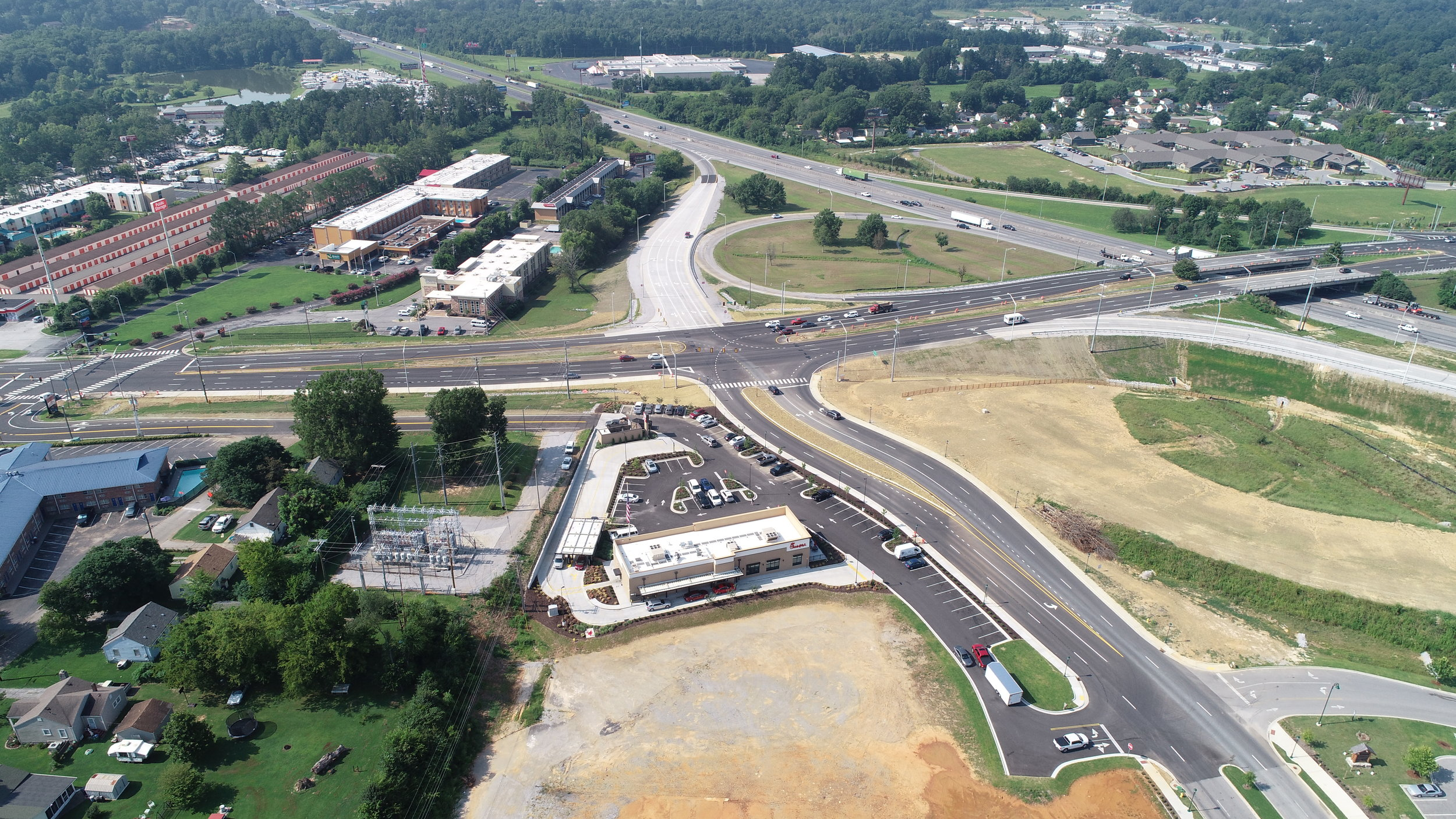 CEI Services on TDOT Local Programs I-75 Exit One Project