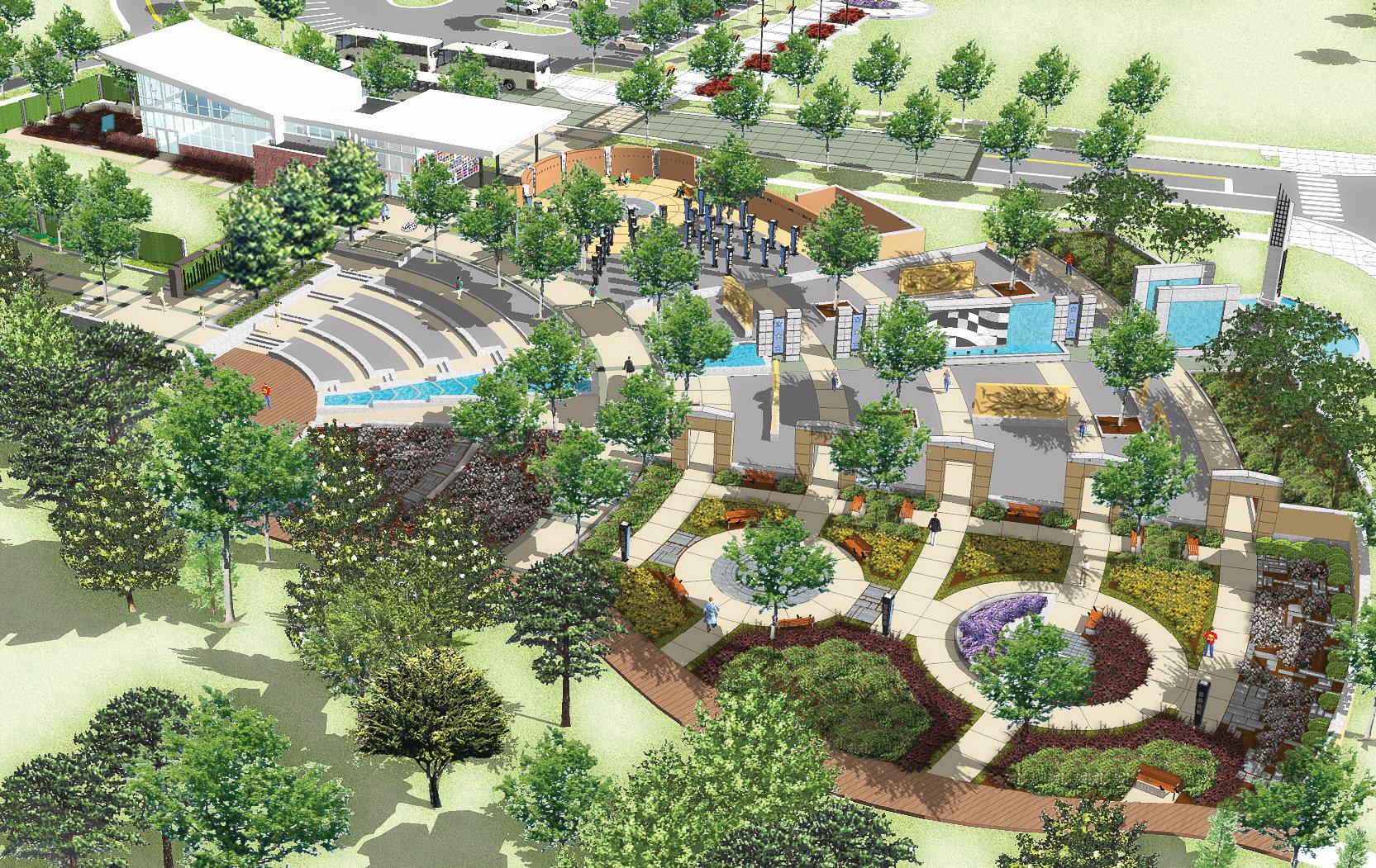 Landscape Architecture Projects -